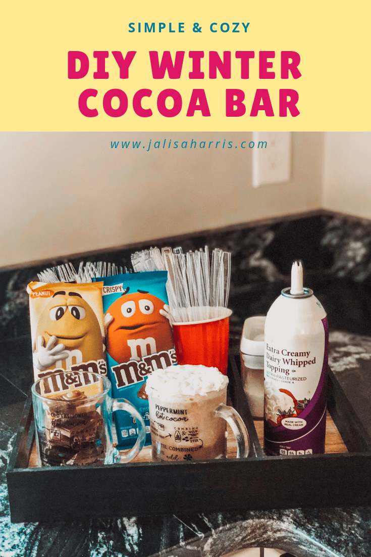 Hot Cocoa bar diy pin