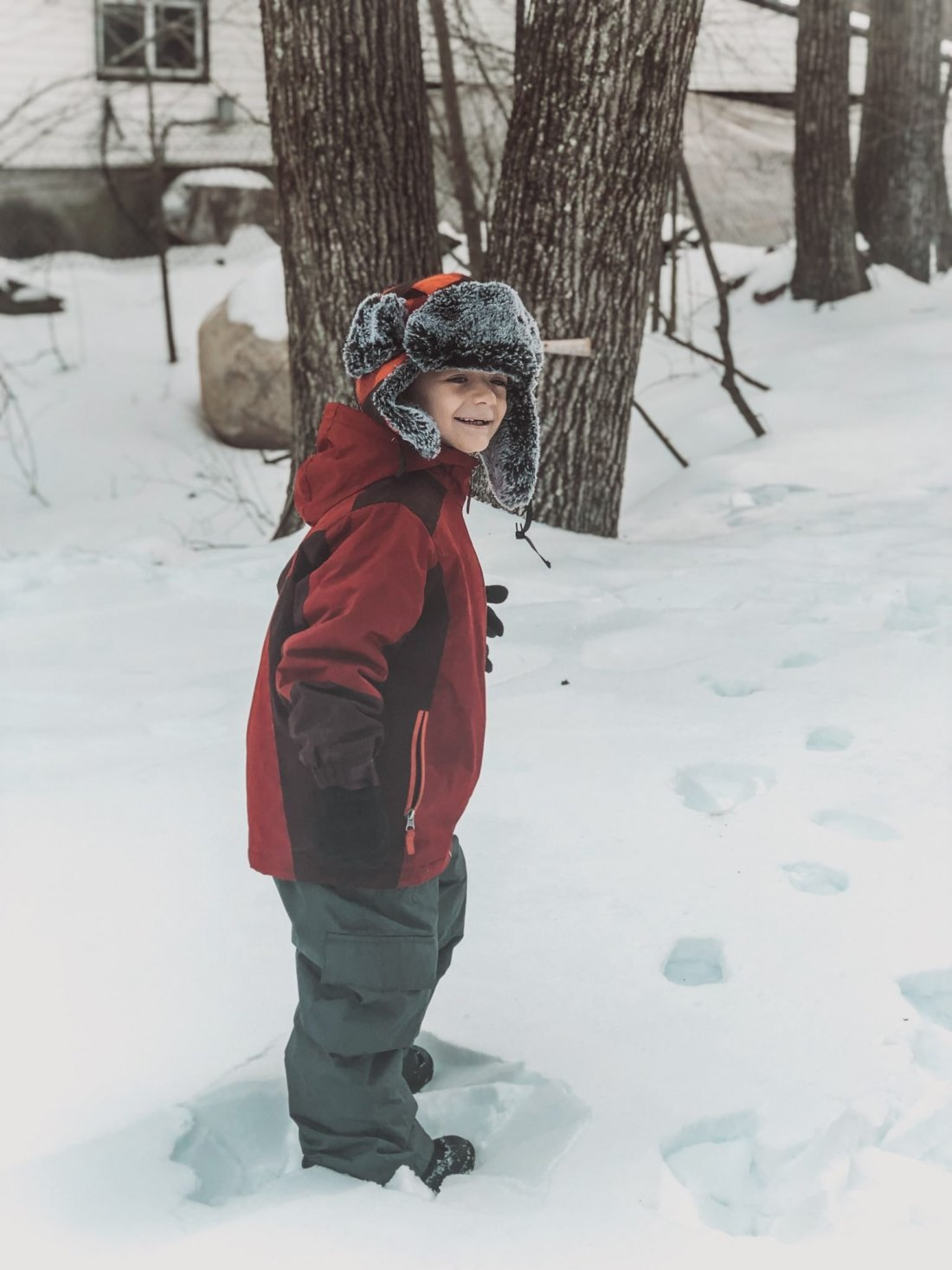 12 things to do this Winter with ADHD kids snow pin