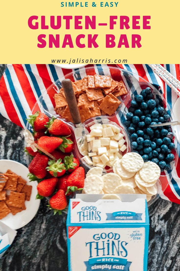 Gluten-Free Snack Bar Pin - Jalisa Harris