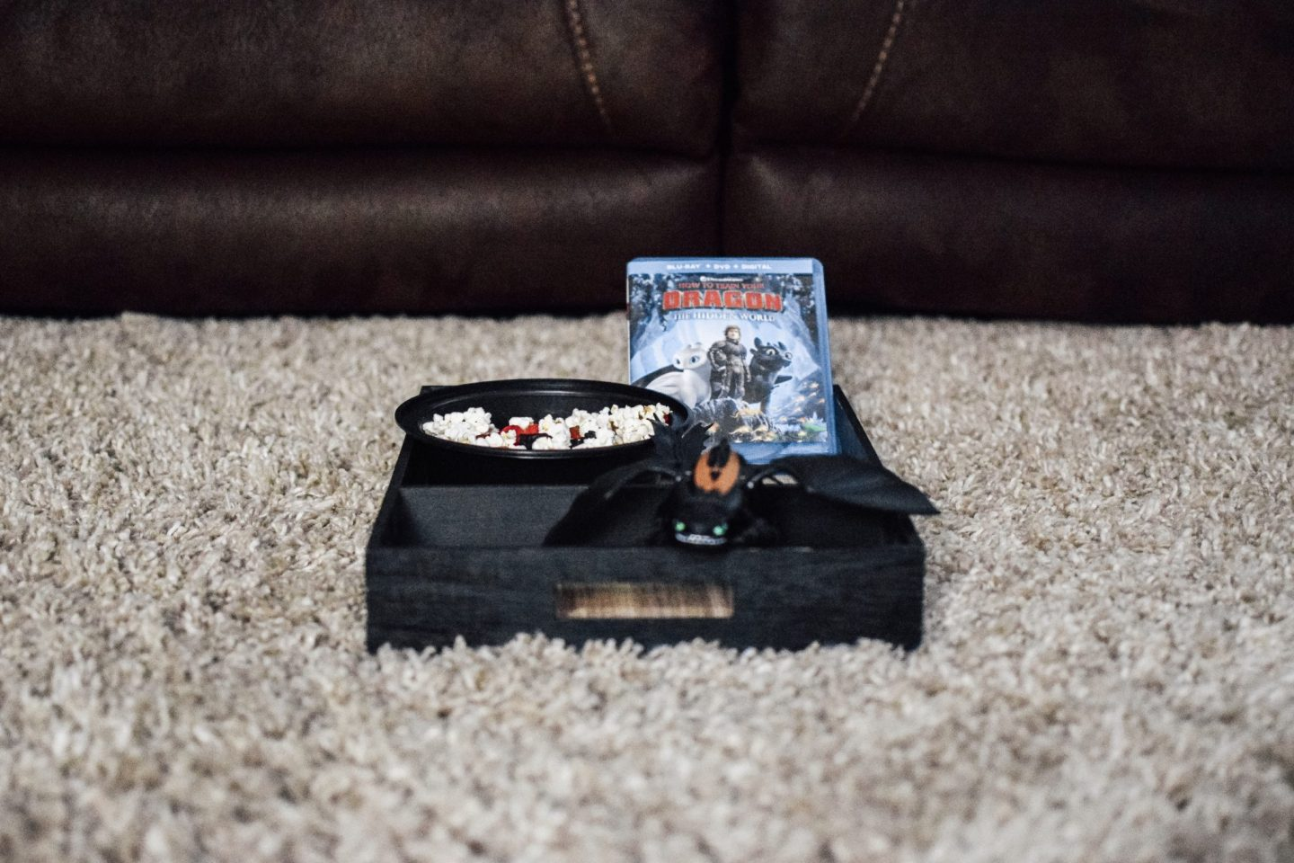 Simple at home movie caddy