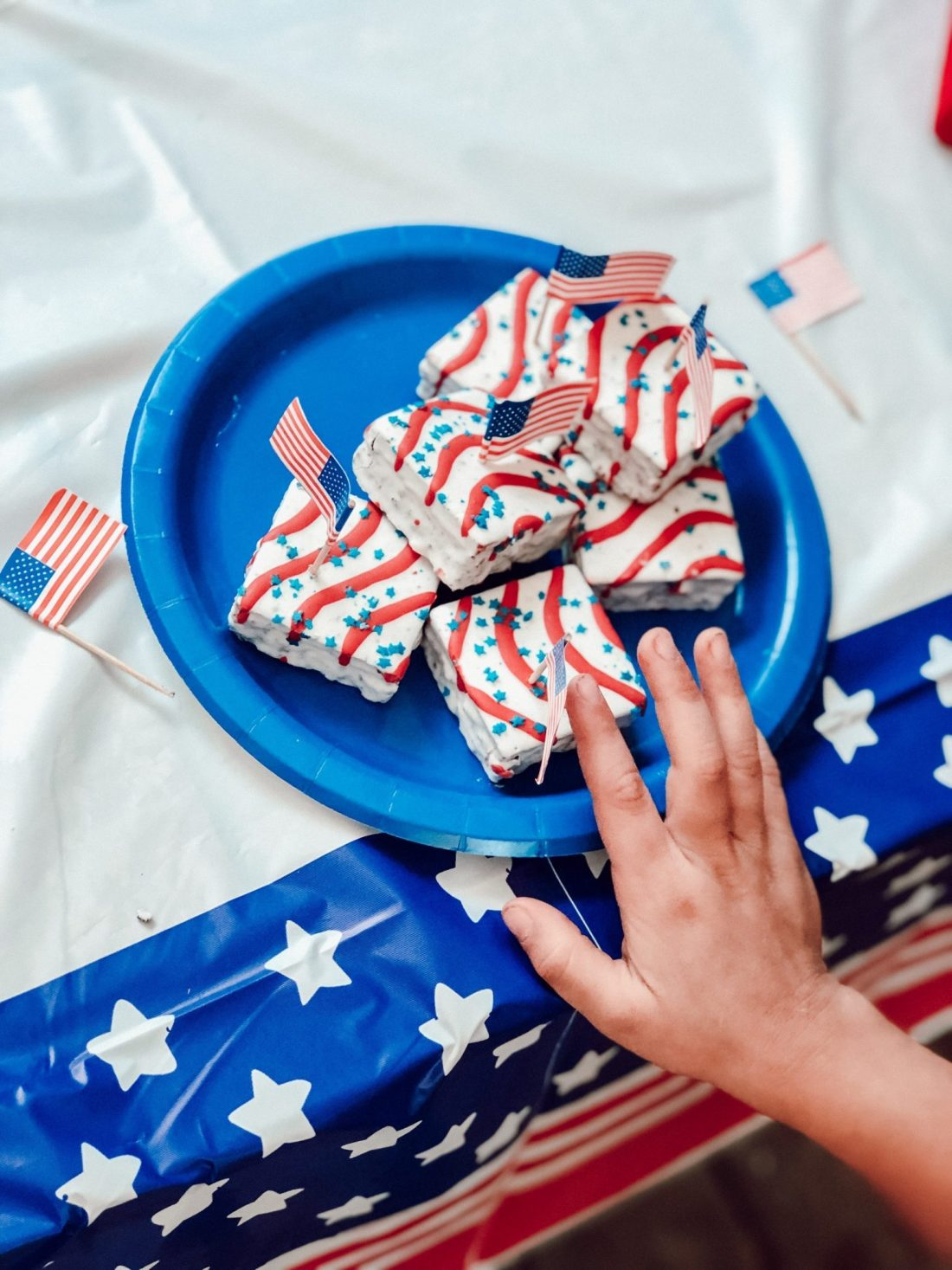 July 4th Kids Snacks