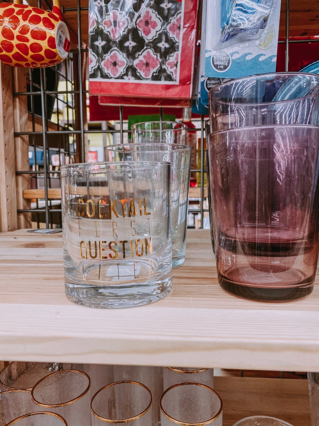 If you are looking for new drinkware. Cost Plus World Market has the best selection   #drinkware #cocktails #mocktails #homedecor