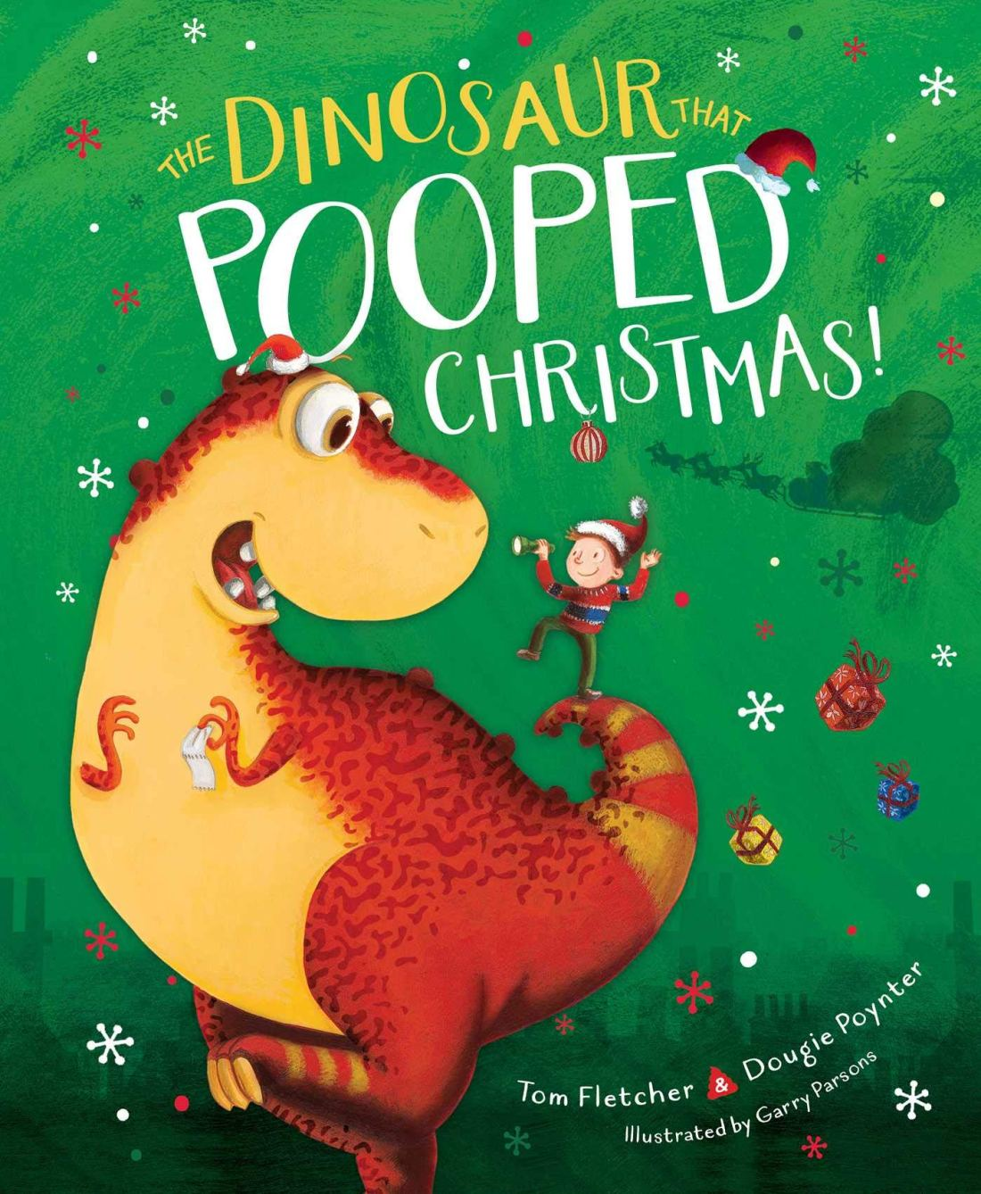 The Dinosaur That Pooped Christmas Book