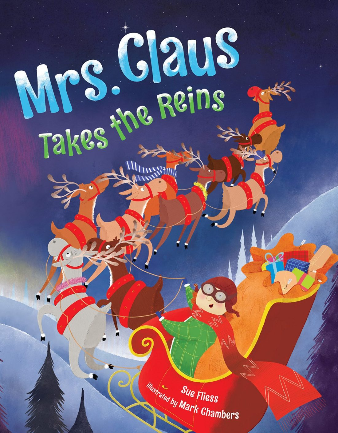 Mrs. Claus Takes The Reins Book