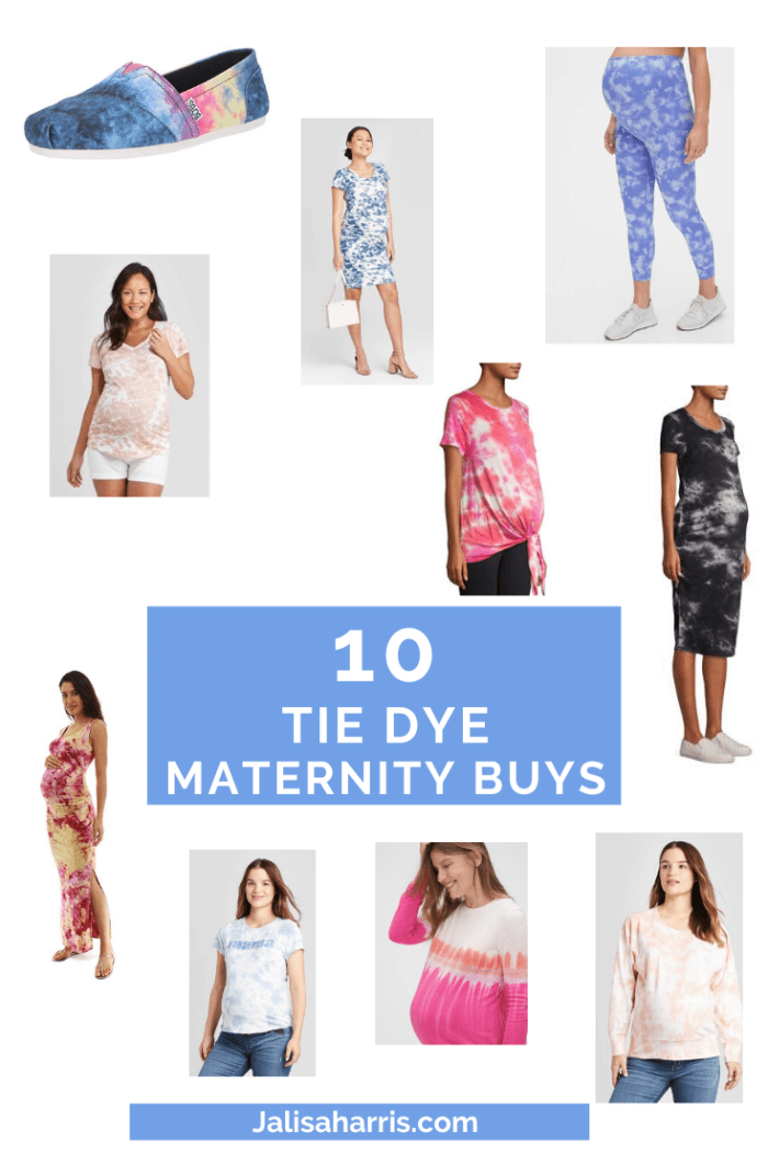 10 Tie Dye Maternity Pieces You Need This Spring