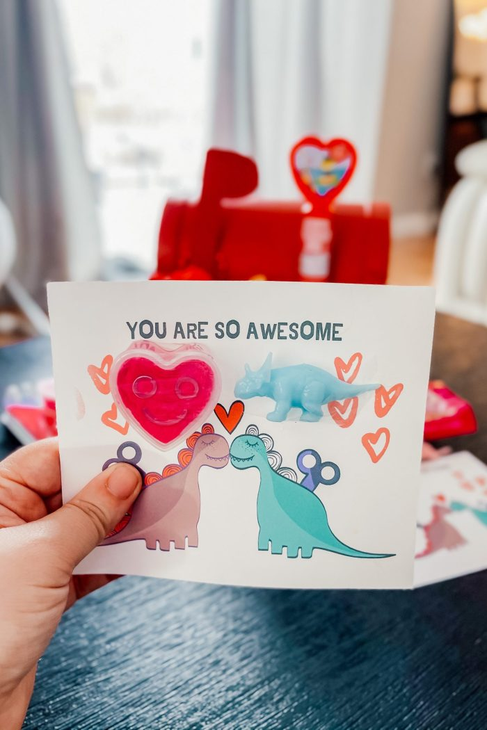 Dinosaur Valentine's Day Cards You Can Print At Home