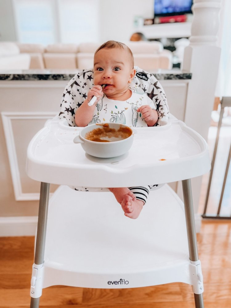 10-minute homemade baby applesauce for busy parents