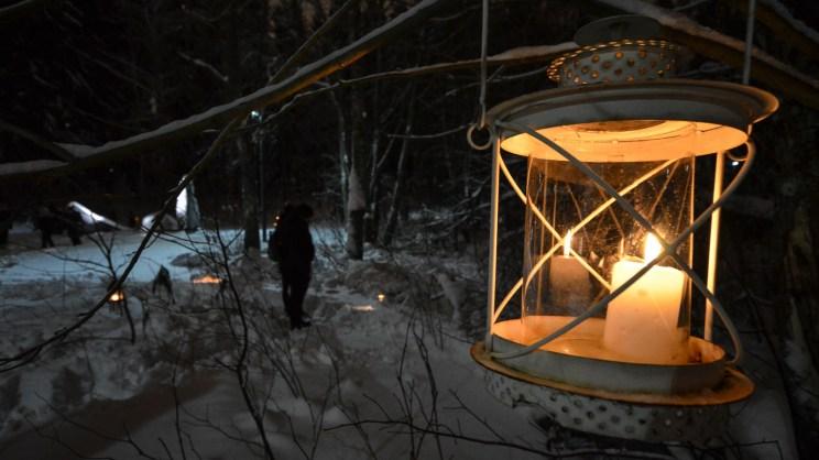 Lyhty puussa, Runotulet 2019. Kuva: Upe Nykänen