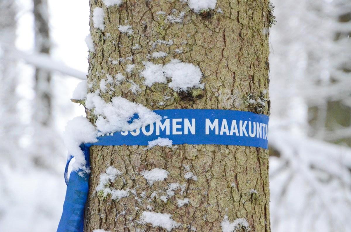Keski-Suomen maakuntauran sininen nauha