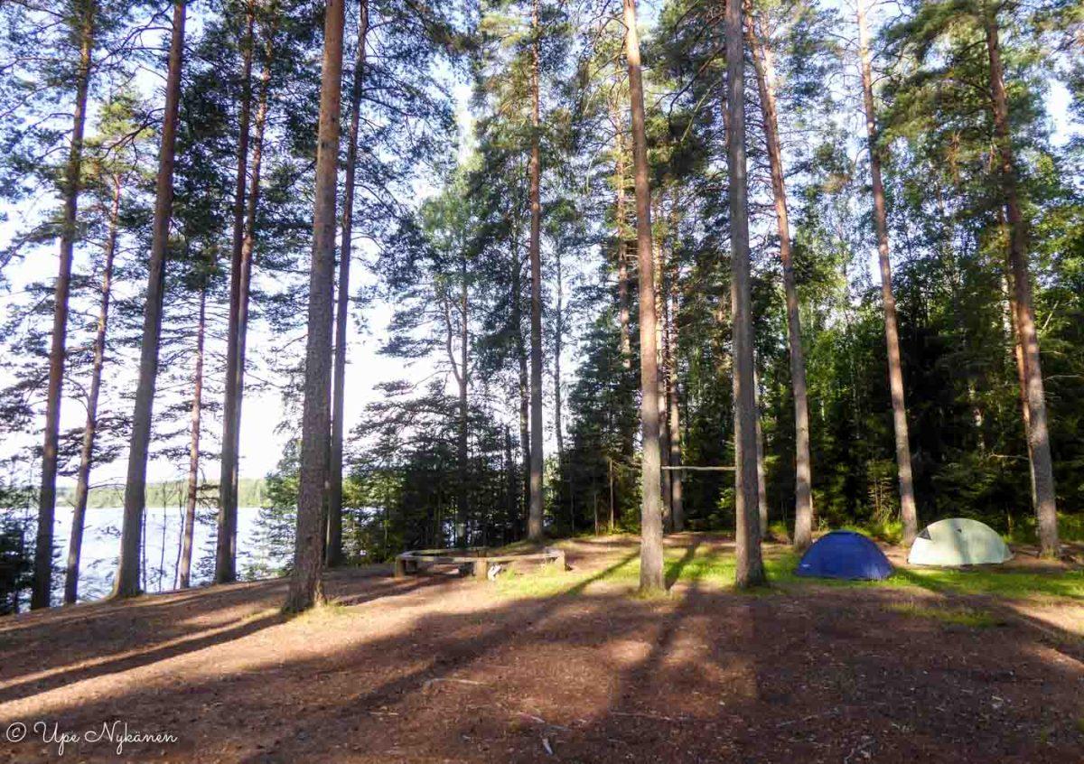 Taruksen retkeilyalueen telttailualue