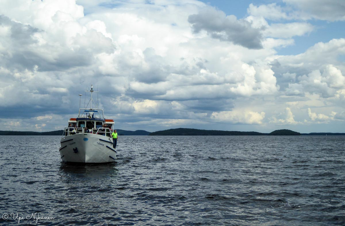 M/s Elbatar saapuu Padasjoen satamaan