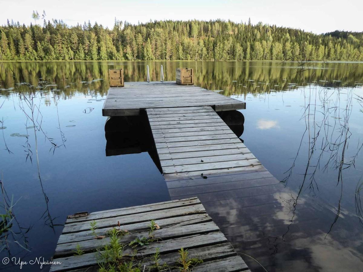 Kerpolan rannan laituri, Jämsä