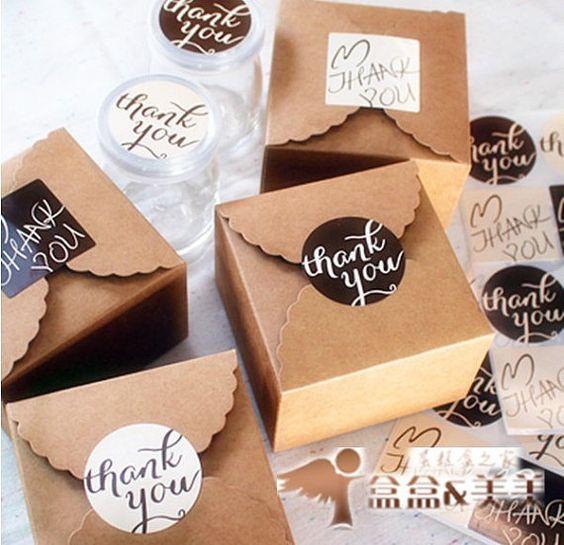 Caja mediana de cartón para regalitos