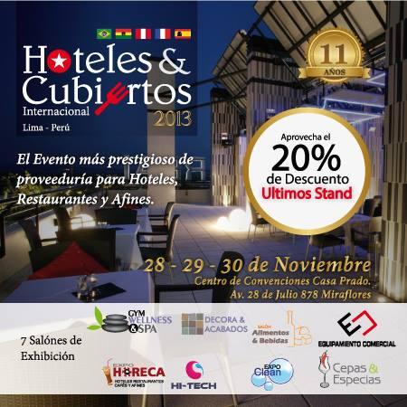 Feria de Hoteles y Cubiertos 2013