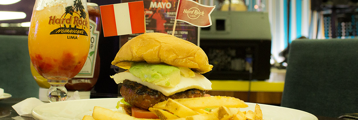 El World Burger Tour en el Hard Rock Café