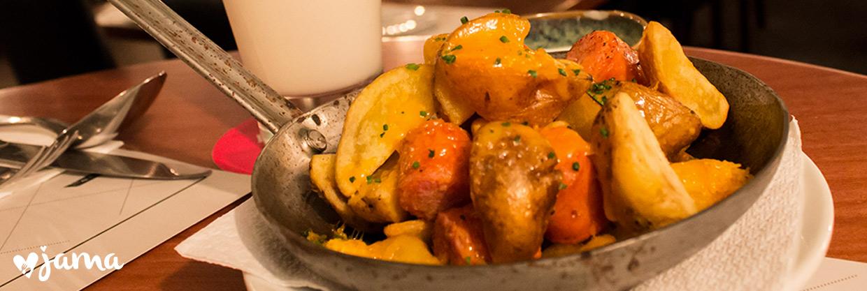 Visitando el restaurante Manifiesto, comida para compartir