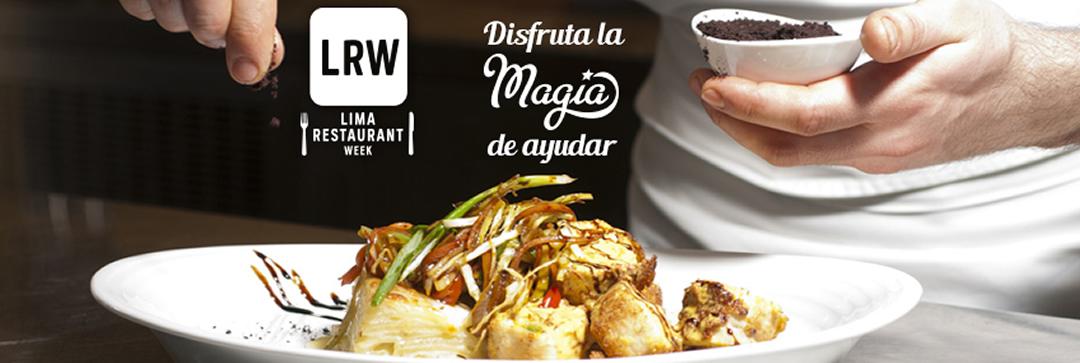 SORTEO: Vuelve la 3era edición del Lima Restaurant Week y te invito a disfrutarla