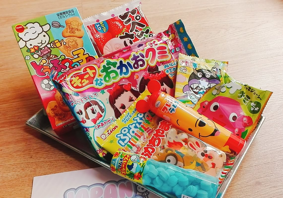 Review: Japan Candy Box, una cajita llena de snacks japoneses