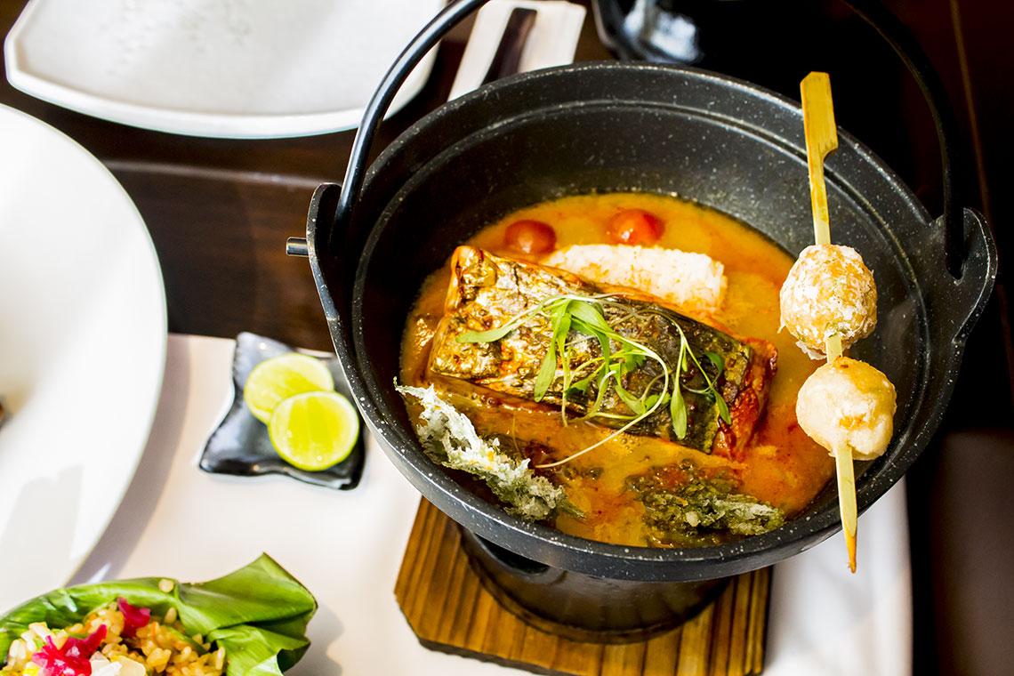 San isidro: Tzuru restaurante, homenaje a la cultura nikkei