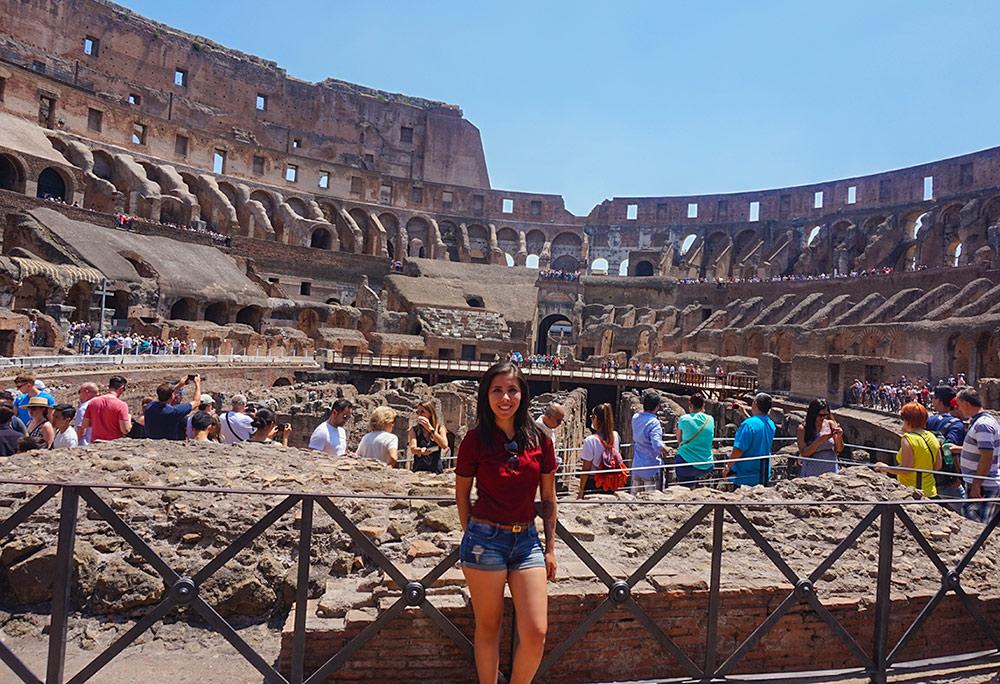 Coliseo Romano VIAJAR A ROMA