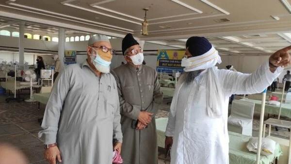 Jamaat delegation visits Gurudawara