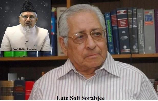 sorabjee dies