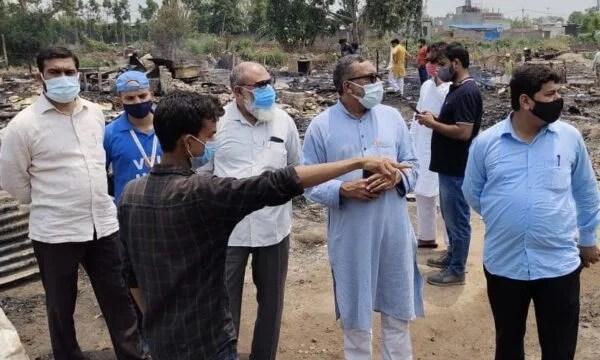JIH delegation visits rohingya camp