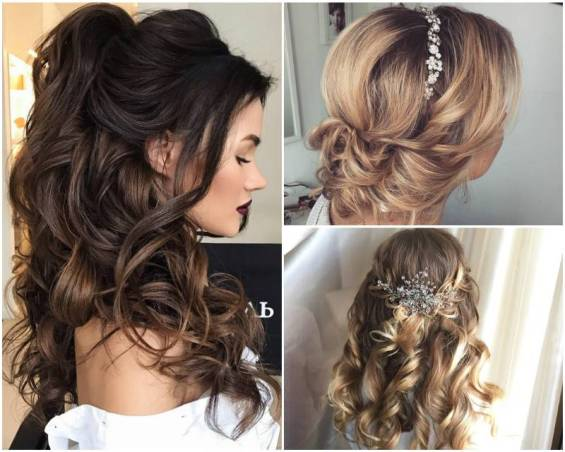 Красивые свадебные прически на любую длину волос
