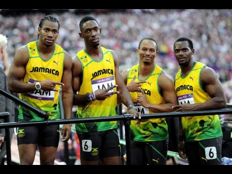 Valiant strides - Jamaica's 4x100-metre women's team sets ...