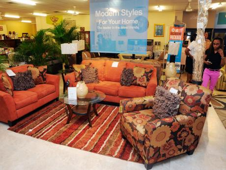 Courts jamaica sofa set for Living room designs in jamaica