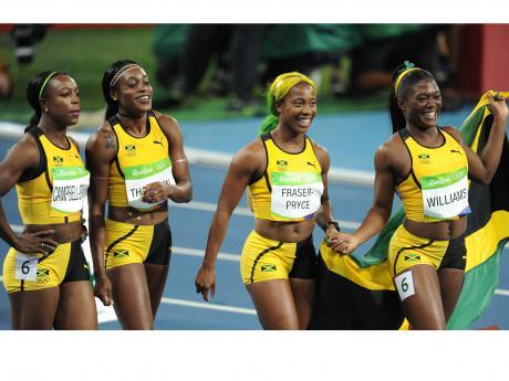 #RioGoldRush: Jamaica's women strike silver in 4X100m ...