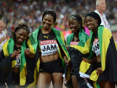 #ReturnToLondon: Jamaica's women get bronze in 4X100m ...