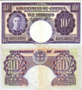 Jamaican Paper Money, 1837-1969