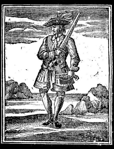 """Captain Jack Rackham aka """"Calico Jack"""""""