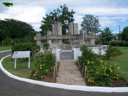 Monument to National Hero, Rt. Excellent Norman Washington Manley.