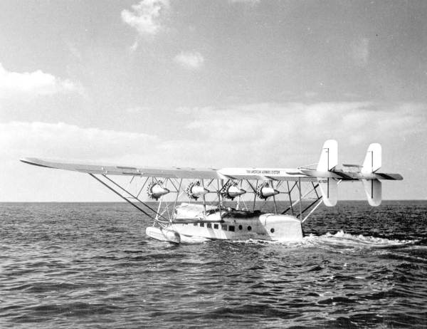 The Pan American 1931 Sikorsky S-40 Clipper