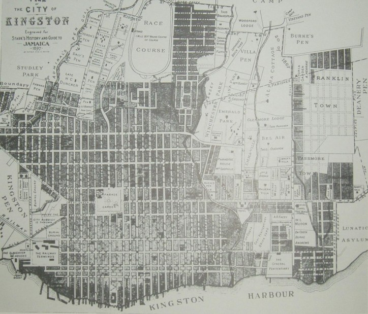 Map of Kingston (1897)