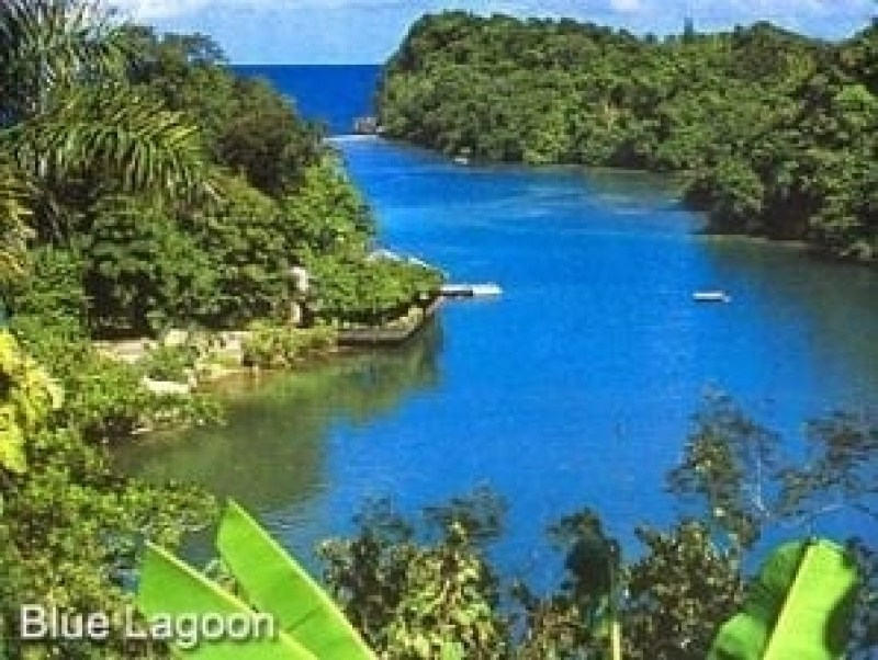 Blue Lagoon a day trip from Ocho Rios