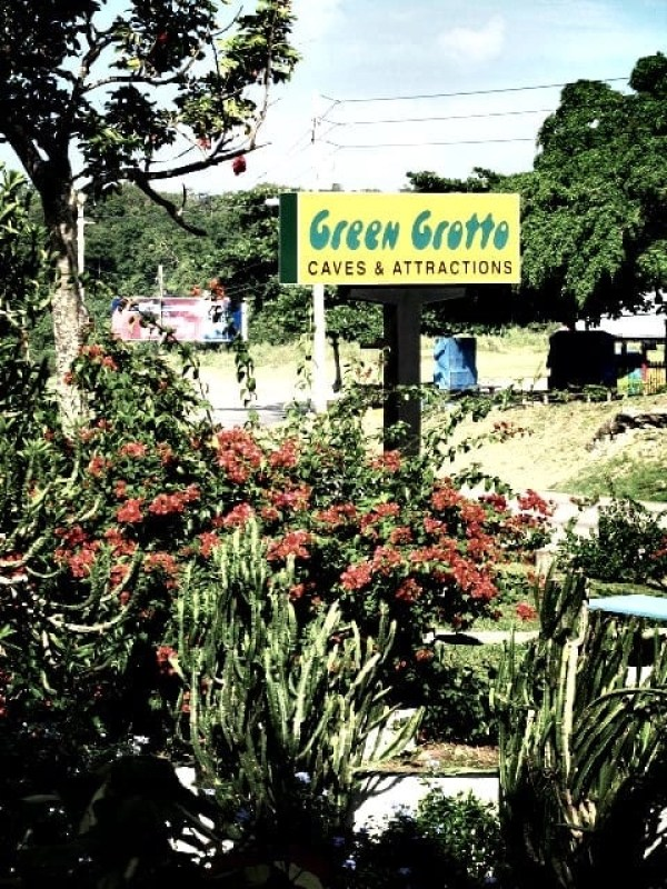 Green grotto cave Jamaica
