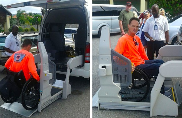Falmouth Wheelchair Taxi   Jamaica Wheelchair Taxi - transport for wheelchair passengers