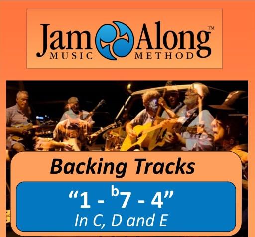 """1 - b7 - 4"" Progression - Backing Tracks"