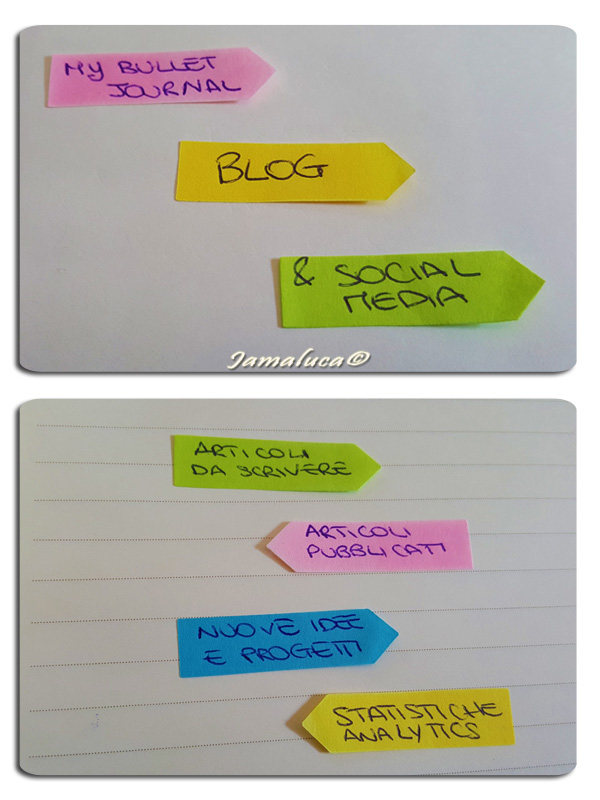 Bullet Journal per blogger