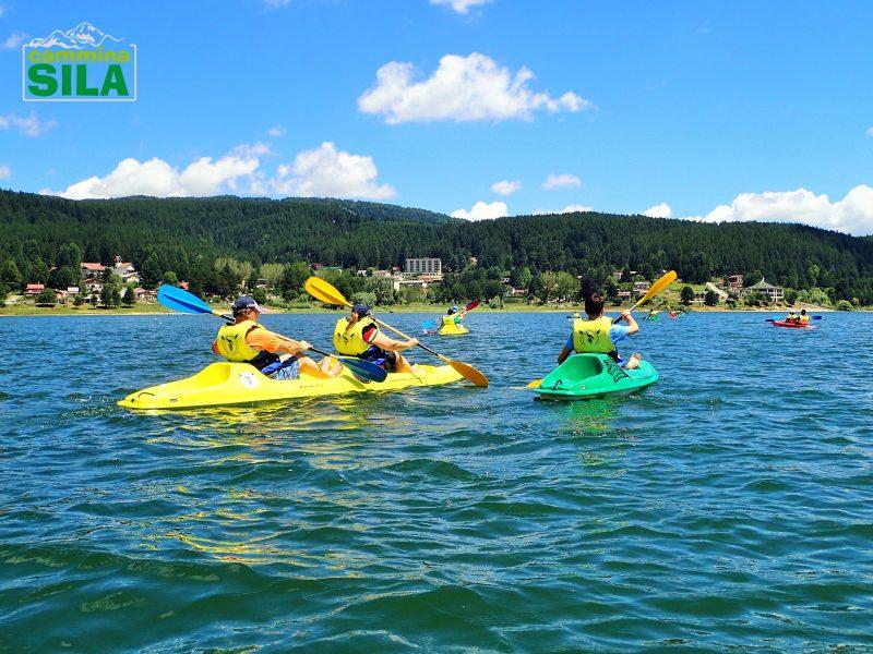 Attività outdoor in Sila - escursioni in canoa e kajak