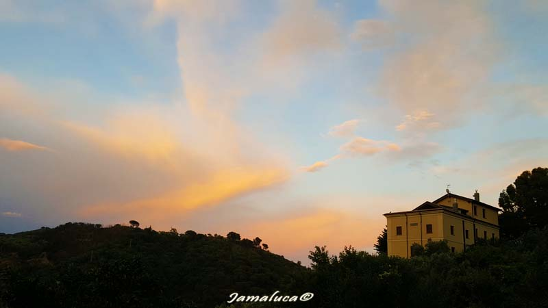 Vicenzale - tramonto
