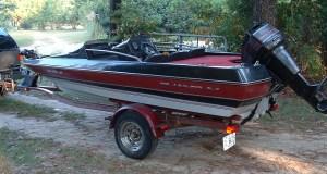 Ski Boat: Quantum Fish And Ski Boat