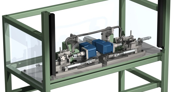 Drop Link Machine - Prototypes Tooling