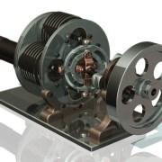 Stirling Engine - Engineering CAD Modelling Video Image CAD Design