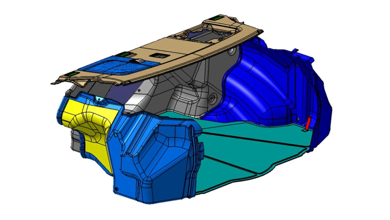Trunk Trim - Automotive Engineering