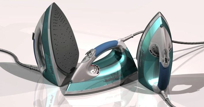 Clothes Iron - Domestic Industrial Design