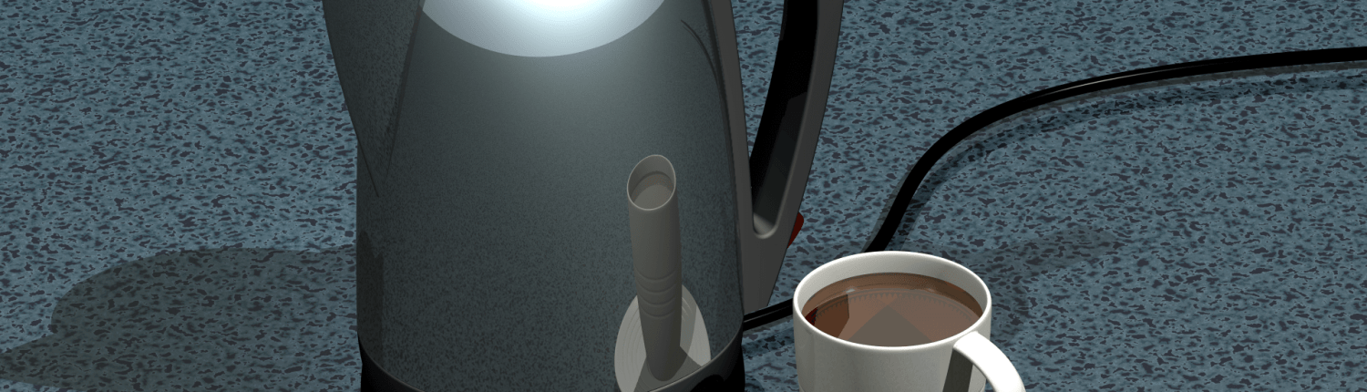 Electric Kettle - Domestic Industrial Design